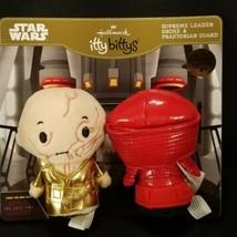 Hallmark Itty Bitty Bittys Supreme Leader Snoke & Praetorian Guard Star ... - $13.85