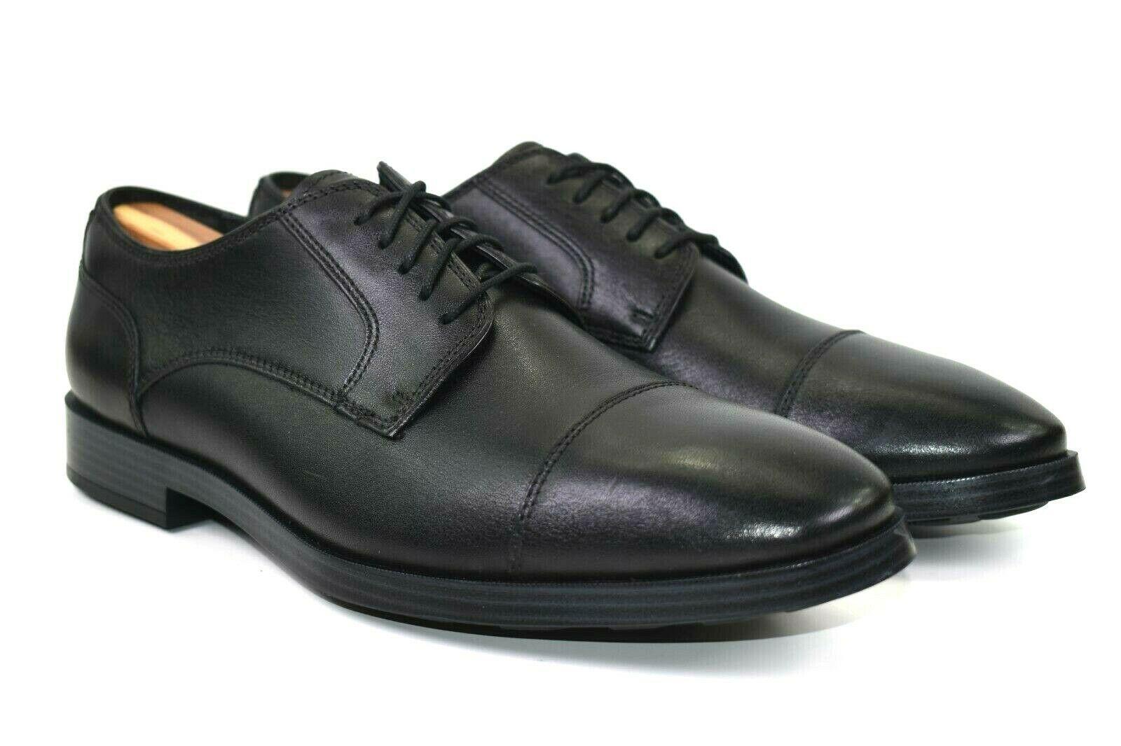 Cole Haan Jay Grand Men's Leather Cap Toe Oxfords Dress Shoes Size 9 M Reg $180 - $74.24