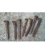 Railroad Spikes 7 Antique Primitive - $30.00
