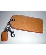 NWT Coach Signature C Embossed Luggage Tag XL 2... - $36.00