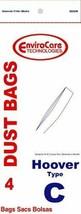 PAPER BAG, HOOVER TYPE C BOTTOM FILL ENV 4PK - $5.23