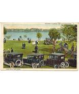 Lake Eola and Park Orlando Florida Before Disney World Vintage Post Card  - $7.00