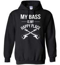 My Bass Is My Happy Place Blend Hoodie - $32.99+