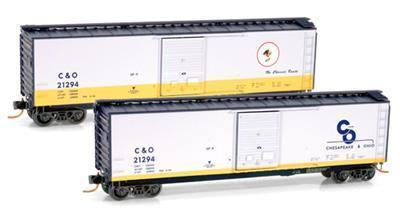 Micro Trains 03100074 C&O Cameo 50' Boxcar 21294