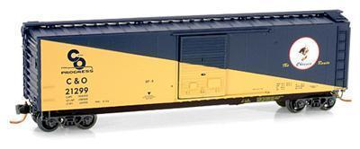 Micro Trains 03100072 C&O Cameo 50' Boxcar 21299