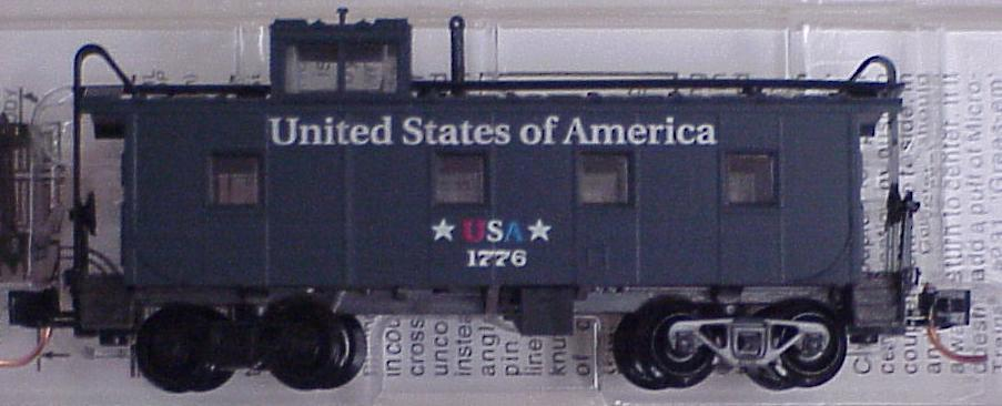 Micro Trains 10000240 USA State Series  Caboose 1776