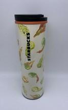 Starbucks 16 oz Gourd Fall Tumbler Cup Mug Water Bottle Twist Sip Lid Or... - $17.58