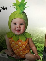 Halloween Baby Pineapple Costume Baby Toddler 12-18 months NEW NIP - $32.61