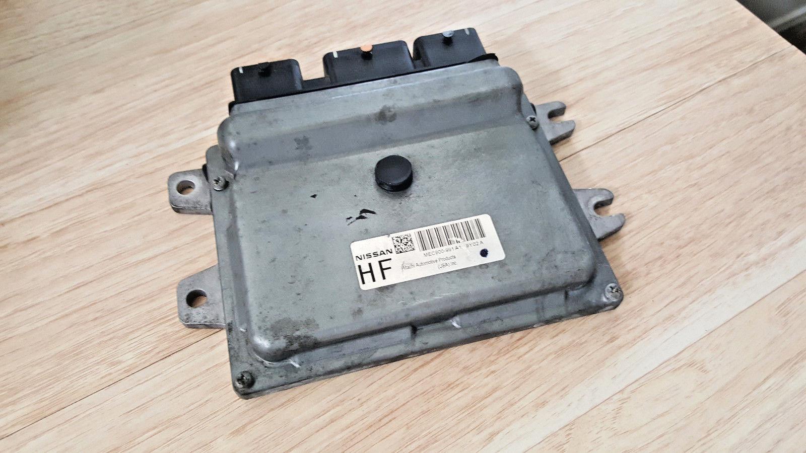10-11 nissan versa ecu electronic control module mec900-991 mec900991 a1 d1