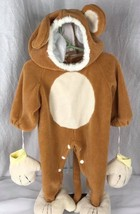 Fun World baby's cuddly bear baby costume size 6-12 months - $8.51