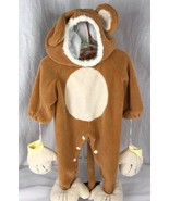 Fun World baby's cuddly bear baby costume size 6-12 months - $8.51