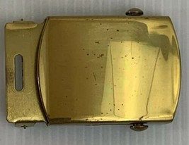 US Navy CPO Officer Anodized Brass Belt Buckle - $7.87