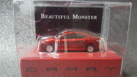 Toyota Camry Light Keychain Red Pull Back Mini Car Japan Not Sold In Stores - $23.10