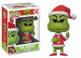 Funko Pop Books Santa Grinch Collectible Vinyl Figure - $9.89