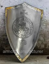 32 Inch Full Size Templar Knight Cross/Seal Shield by romanhandicraft of Replica - $160.00