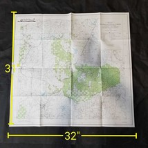 Vintage 1968 USDA Klamath National Forest California Oregon Topographic Map - $17.50