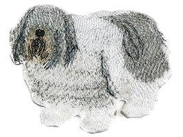 Amazing Custom Dog Portraits[Polish Lowland Sheep ] Embroidered Iron On/... - $9.89
