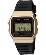 Casio Men's 'Classic' Quartz Metal and Resin Casual Watch, Color:Black (... - $19.13
