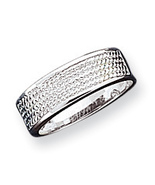 New Women's Sterling Silver Band, Five Row Band Ring, Size 7  MSRP- $65 - $8.76