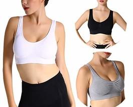 JOJOANS Sports Bras for Women,Seamless Wireless Comfortable Stretchy Yog... - $25.65