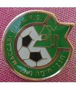 Maccabi Haifa FC football / soccer pin Israel fan club Israeli &champion... - £7.38 GBP