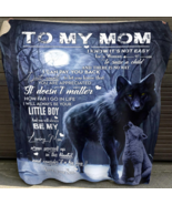 To My Mom I Will Always Be Your Little Boy Fleece Blanket, Gift for Mom ... - $42.27+