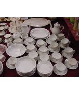 "Crestwood China ""Ivy Mist"" Cups and Saucers - $80.00"