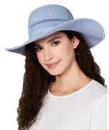 INC International Concepts Women's Lace-Insert Floppy Hats, Blue - $26.00