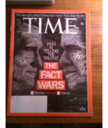 Time Magazine The Fact Wars Who is Telling The ... - $5.00