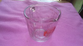 glass mesuring cup - $2.00