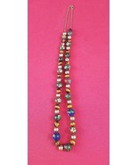 "18"" Chinese Enamel  Agate Cloisonne Tiger Eye Beads & 14K   #4867 - $149.00"