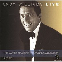 ANDY WILLIAMS - Treasures From His Personal Collection - 2 CD