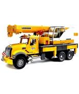 Bruder - 02818 - Toys MACK Granite Liebherr Crane Truck Kids Play - $115.33