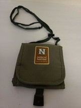Natural Habitat Adventures Wallet Lanyard Neck Pouch Green Recycled Poly... - $10.13