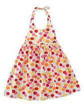 Cherry Baby Gymboree NWT Cherry Halter Woven Dress 5 - $16.99