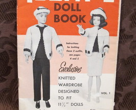 Vintage Mary Maxim Doll Knitting Patterns DOLL Suits Ski Outfits Dresses Hats et - $9.99