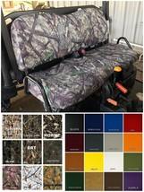 John Deere Gator Bench Seat Covers XUV 855D  in  BARE TIMBER CAMO - $99.95