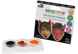 Snazaroo Thème Paquet Diable, Peinture Visage, Maquillage, Déguisement H... - £4.81 GBP