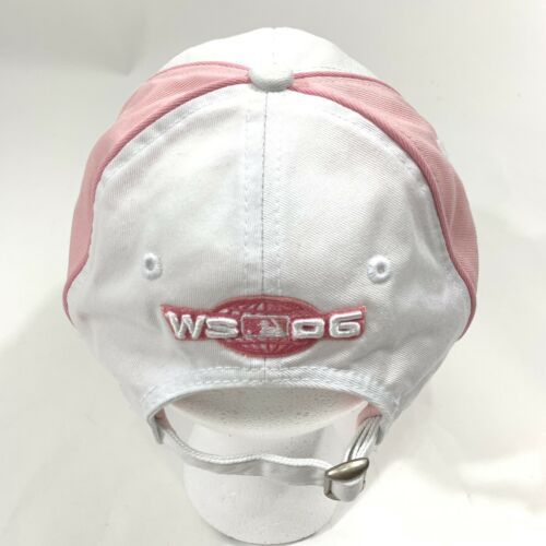 St Louis Cardinals Hat Cap Strapback World Series 2006 Champions Pink New Era