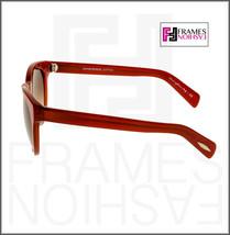 OLIVER PEOPLES ALIVIA OV5216S Red Blood Translucent Brown Round Sunglasses 5216 image 2