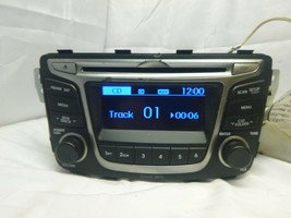 15 16 17 Hyundai Accent Radio Cd SAT Media Player 96170-1R111RDR RQV105 - $21.38