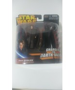 STAR WARS ROTS SERIES EXCLUSIVE DELUXE ANAKIN CHANGES TO DARTH VADER  FI... - $17.82