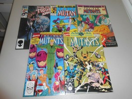 Lot of 5 different The New Mutants Annuals from Marvel Comics 1984 to 1991  - $14.85