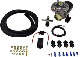 A-Team Performance Brake Booster Electric Vacuum Pump Kit, 12V