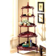 Five-tiered Edwardian Corner Shelf - $340.86