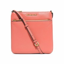 Michael Kors Riley Small Crossbody Messenger pink grapefruit NWT - $1.611,01 MXN