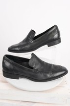 Cole Haan N Air Mens Dress Shoes Loafers Sz 11 Slip On Black Leather C09... - $39.59