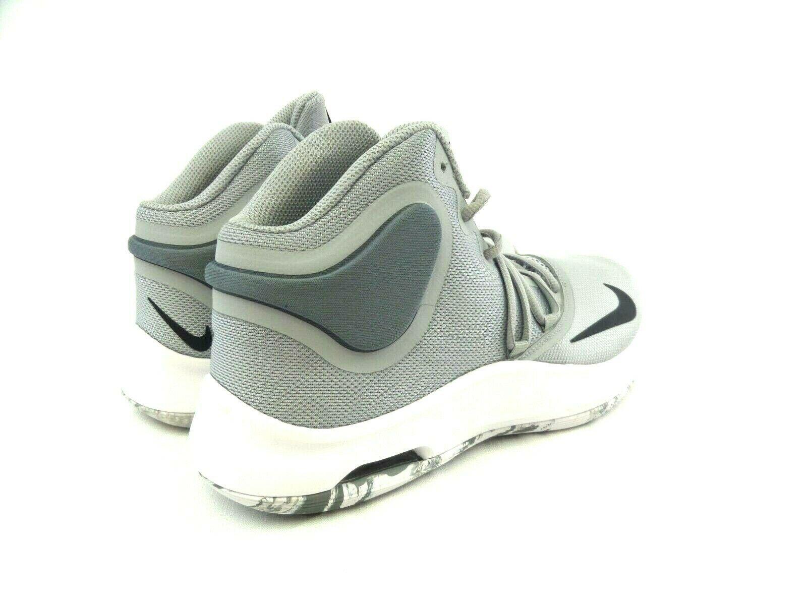 Nike Air Versitile Men's Gray Black Mid Top Basketball Shoes At1199 003