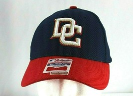 DC Washington Nationals Blue/Red Baseball Cap Stretch Fit S/M - $21.99
