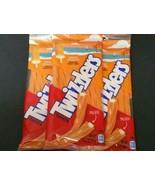 (3-Pack) Twizzlers 4.25 oz. ORANGE CREAM POP Filled Twists Chewy Candy B... - $12.43